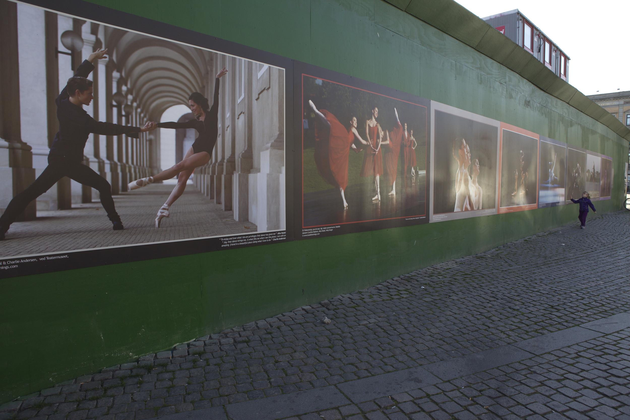Kgs. Nytorv 24 meters MEGA poster
