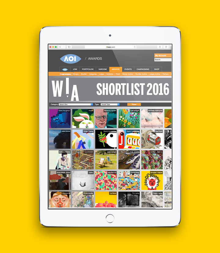MY LETTERFRIENDS PROJECT IS SHORTLISTED BY THE JURY FOR THE WORLD ILLUSTRATION AWARDS 2016! Proud to be on this list:  http://www.theaoi.com/awards/awards-shortlist.php?&page=3