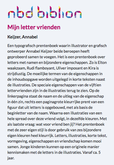 NICE REVIEW by THE Royal DUTCH LIBRARY