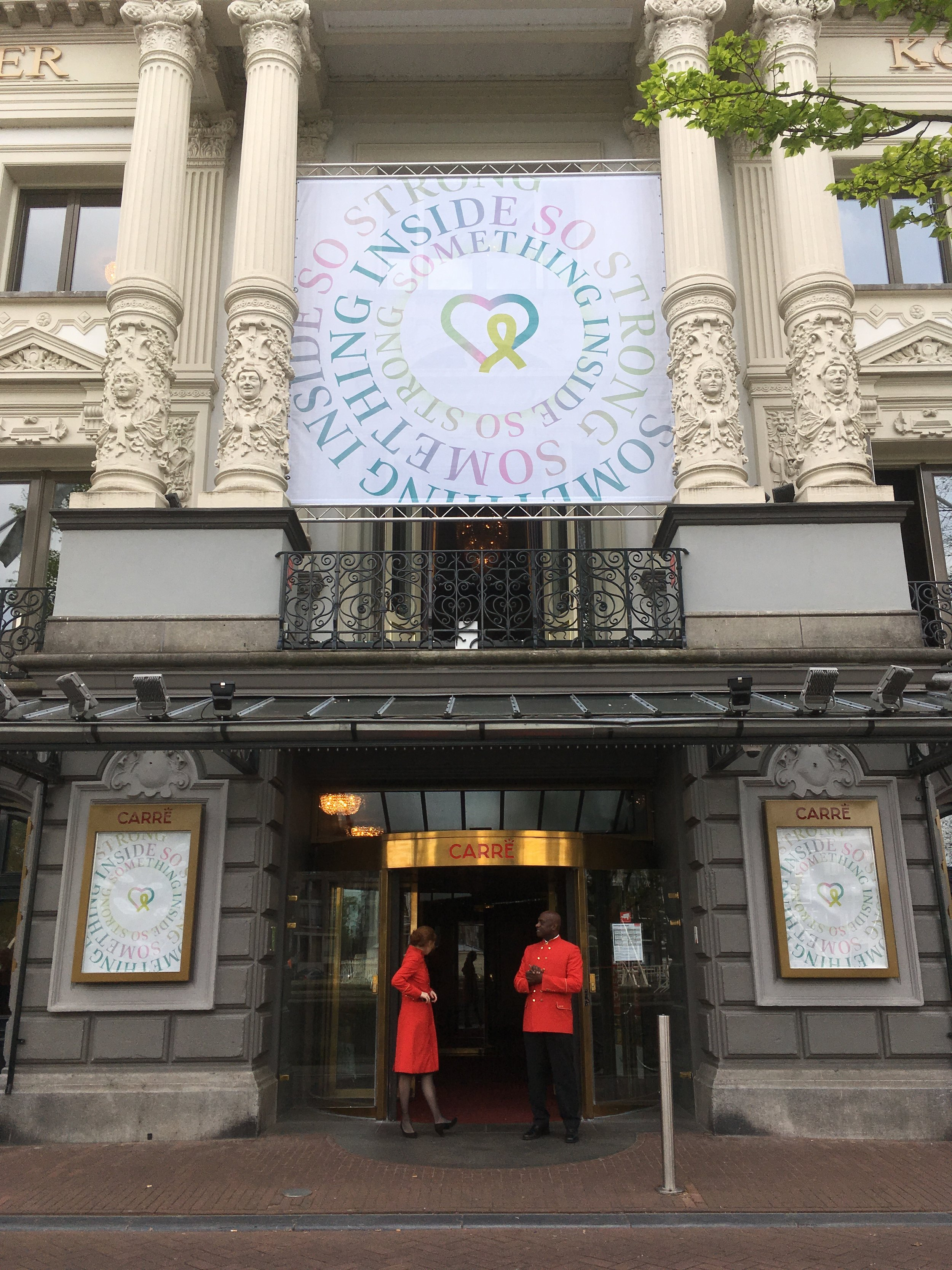Branding & identity design - Identity and branding for the International Lyme awareness congress at Carré Theatre Amsterdam.