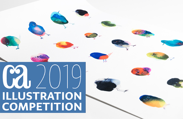 The 'Spots on Paws' poster has been nominated  for the most prestigious competition for creativity in illustration, the  Communication Arts  Illustration Competition 2019. The Bird poster is selected by a nationally representative jury of distinguished designers, art directors and illustrators.