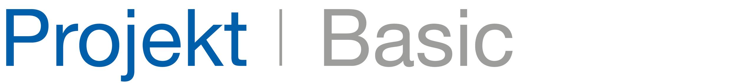 Byggeweb Projekt Basic