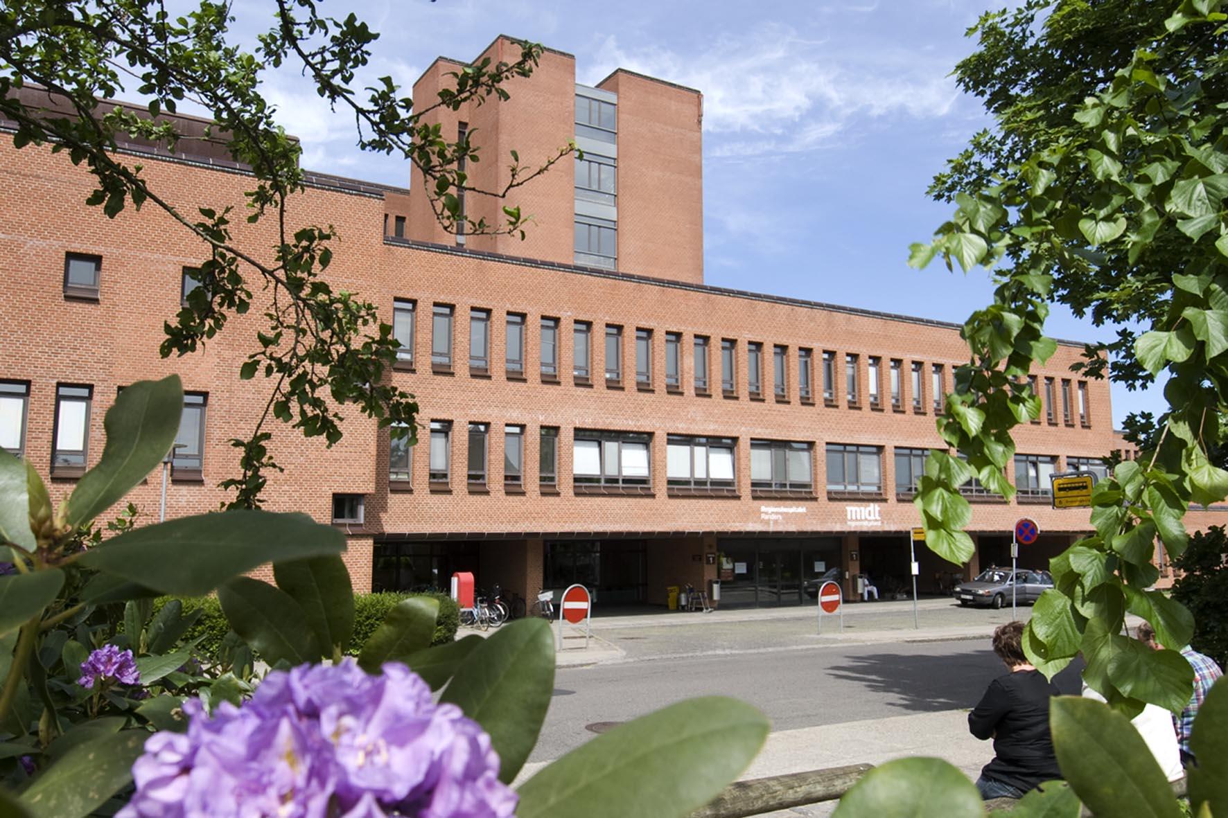 REGIONSHOSPITALET RANDERS 750 m2   2017-2018   Ca. 20 mio. kr. Rådgiver: Aarhus Arkitekterne