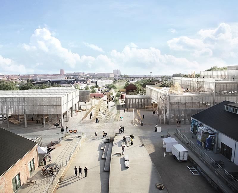 NEW AARCH   NY ARKITEKTSKOLE    13.000 m2   2017-2020   Ca. 260 mio. kr.   Bygherre: Bygningsstyrelsen