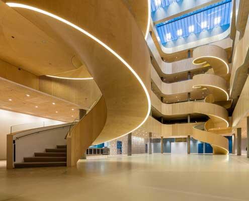 GAPS   NYT PSYKIATRISK SYGEHUS I SLAGELSE   44.000 m2   2010-2015   Ca. 1,05 mia. kr.   Arkitekt: C.F.Møller
