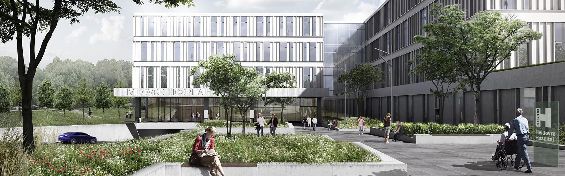 NYT HOSPITAL HVIDOVRE    32.000 m2   2009-2019   Ca. 1,45 mia. kr.   Bygherre: Region Hovedstaden
