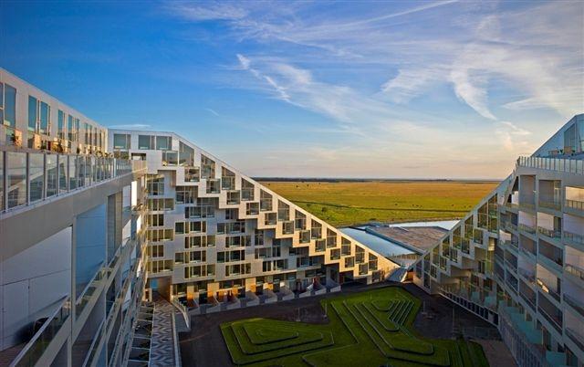 8TALLET    476 lejligheder   2009-2010   543 mio. kr.    Arkitekt: BIG