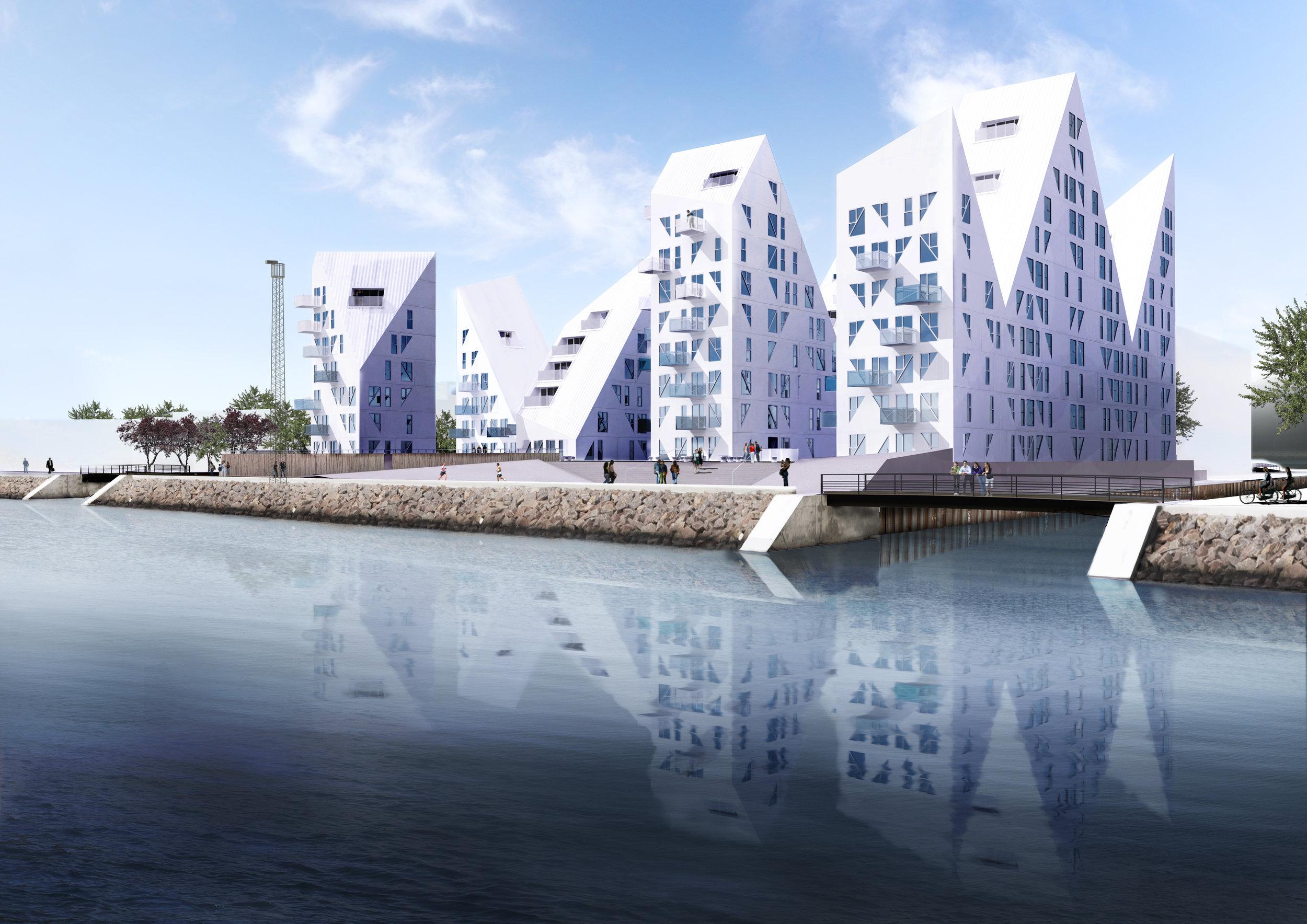 Isbjerget   28.400 m2   2011-2013   400 mio. kr.    Hovedentreprenør: NCC Construction Danmark A/S