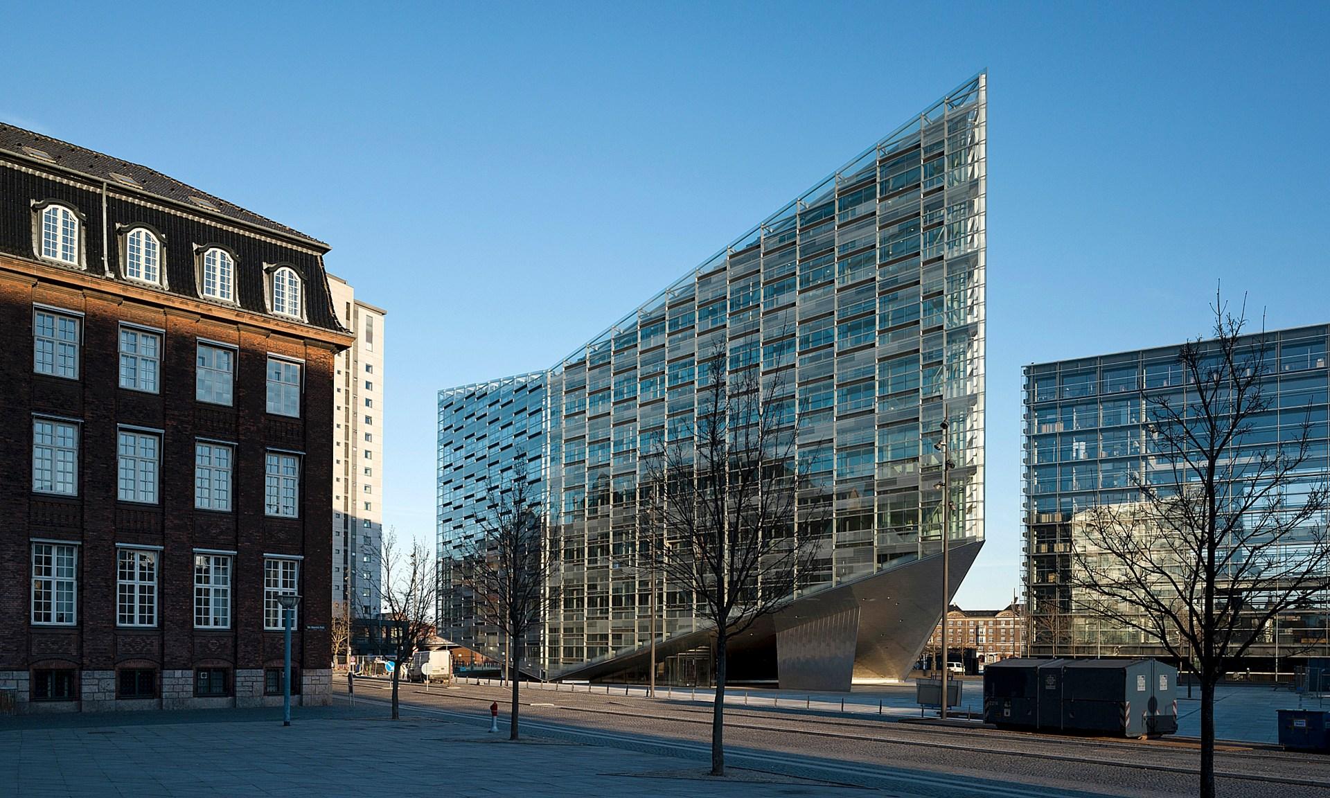 Krystallen   Nykredits nye bygning   6.850 m2   2008-2011     Arkitekt: Schmidt, Hammer & Lassen A/S