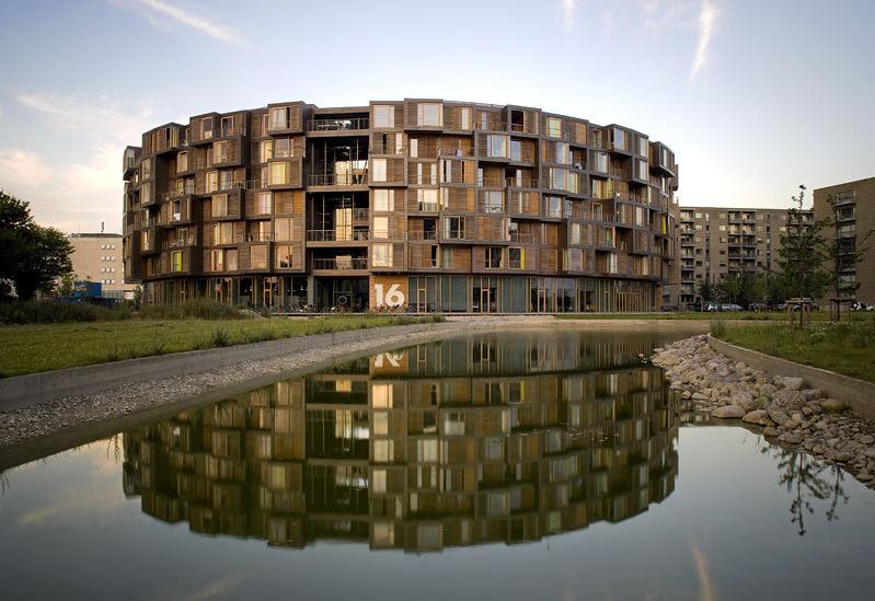 Tietgenkollegiet   360 boliger   500 mio. kr.    Arkitekt: Lundgaard og Tranberg