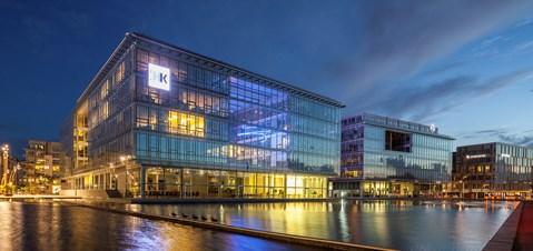 Tøjhusgrunden   HK/KL Hovedkontorer   91.000 m2     Arkitekt: Arkitema