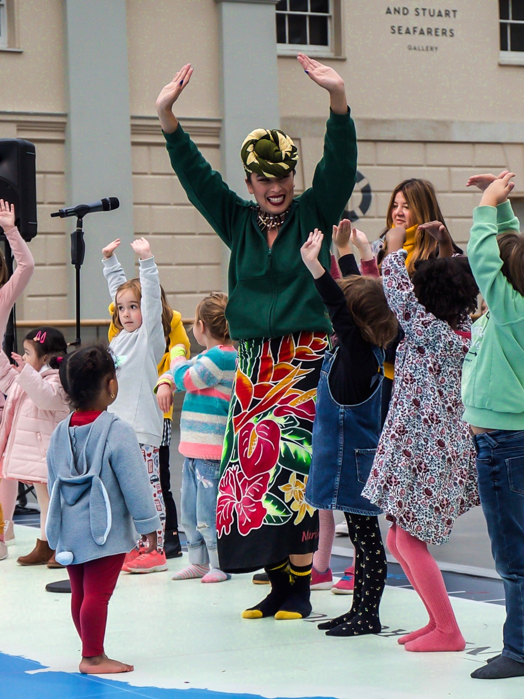 FUNDRAISERS + PUBLIC EVENTS - Whether your're a museum, a festival, or an organisation putting together a public event, we would love to get involved! We have created a show which mixes education and entertainment, if youʻre after a bit more depth.ʻA HUGE thank you for Saturday. The performances were gorgeous, powerful and moving, a real highlight of the day.'- National Maritime Museum