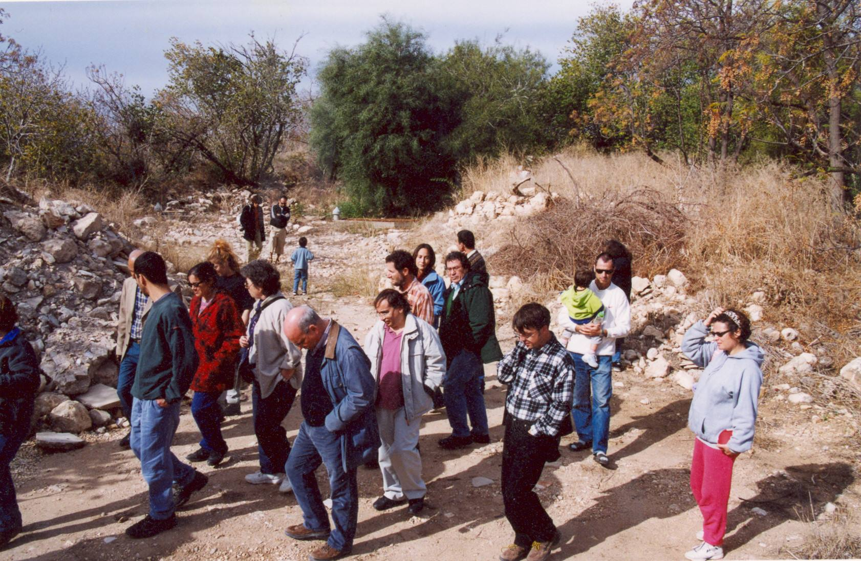 Reaching out to the general public to raise awareness to topics often ignored by mainstream media and to encourage a more critical discourse. A tour to Galilee, Winter 2001.