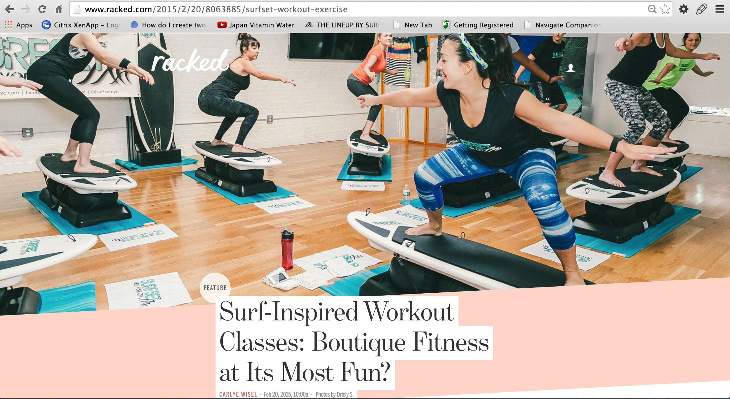 SURFSET NYC on Racked.com