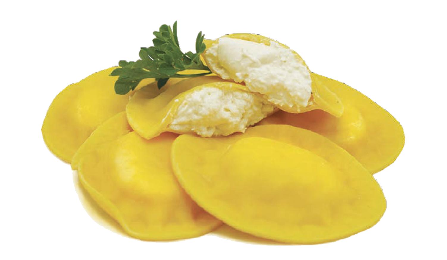 Burrata Ravioli -