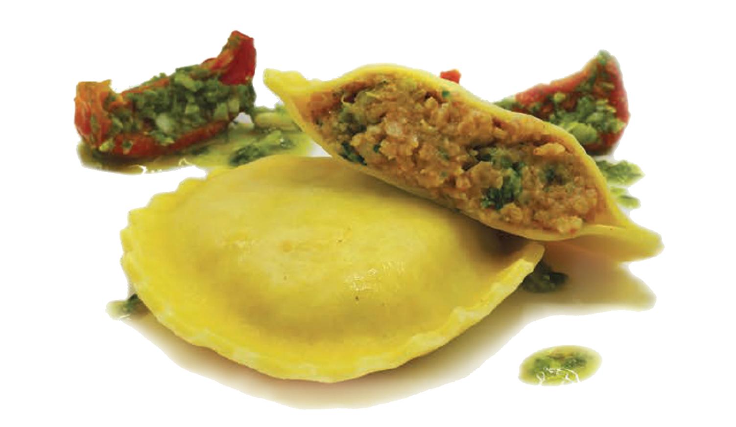 Sausage & Broccoli Ravioli -