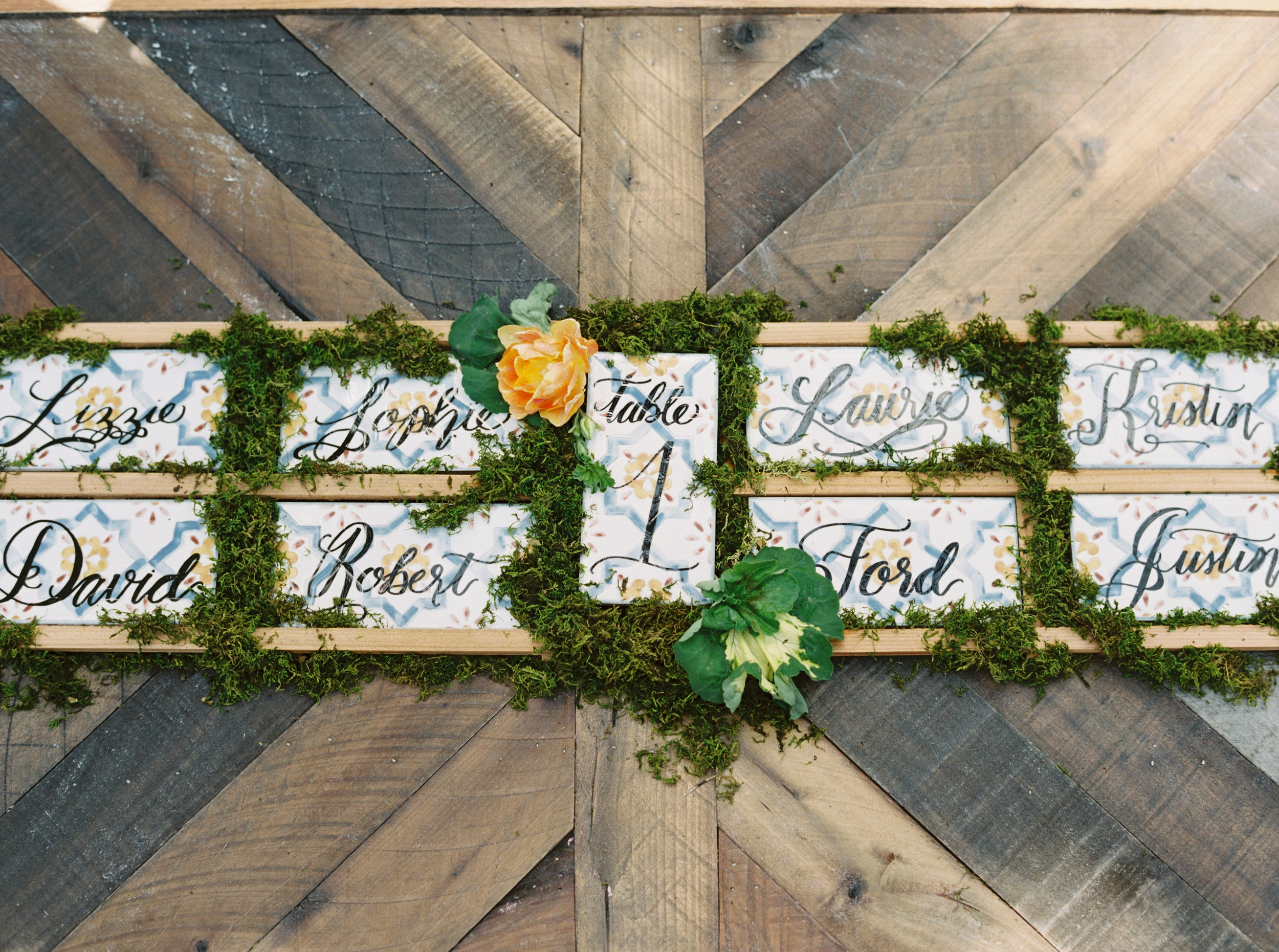 ESCORT CARDS& TABLE NUMBERS - 1.00+ each