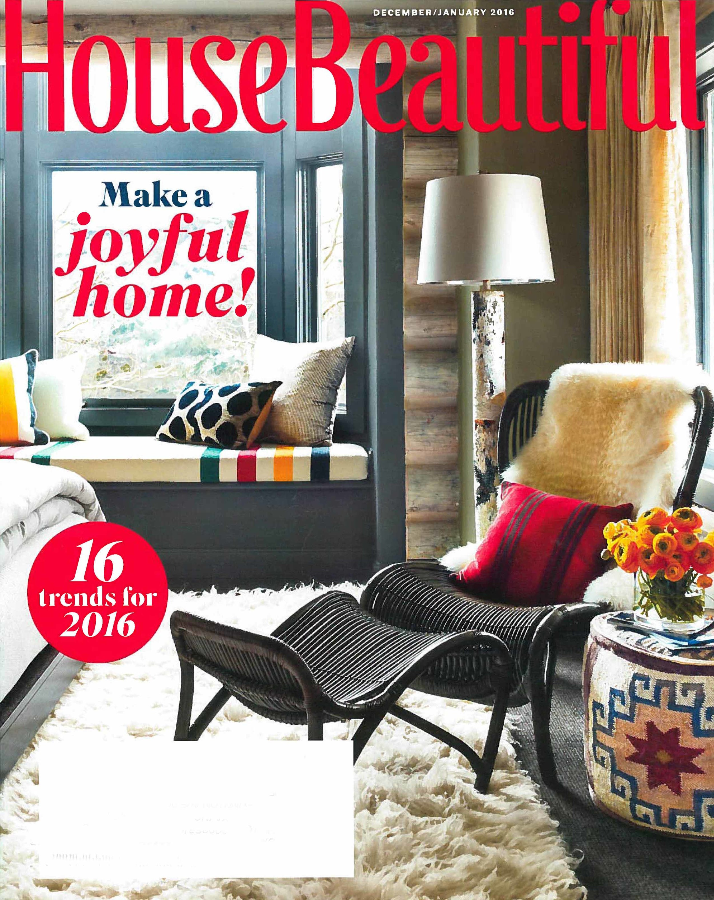 House Beautiful - Dec/Jan 2016