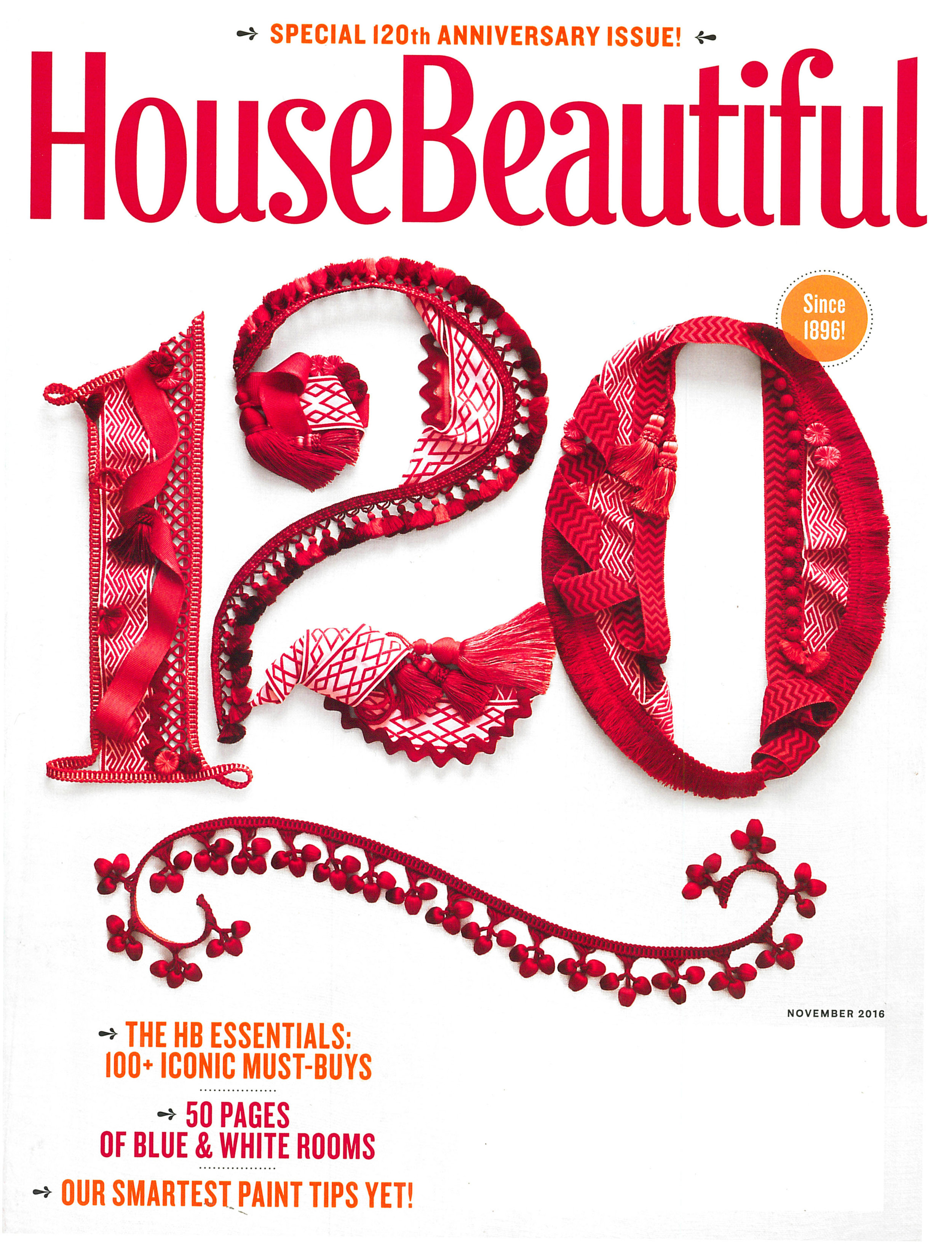 House Beautiful - November 2016