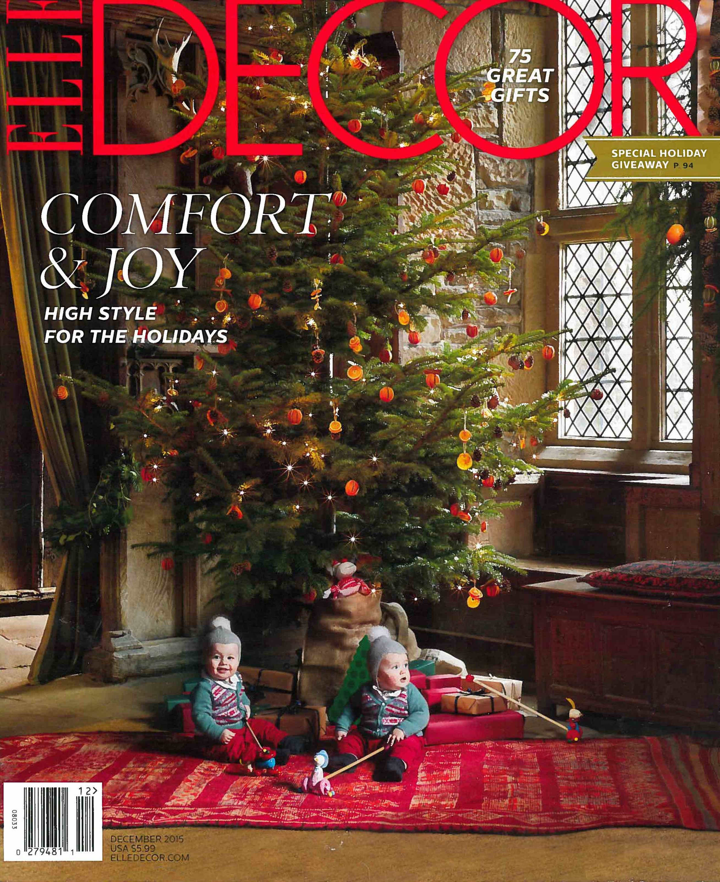Elle Decor - December 2015