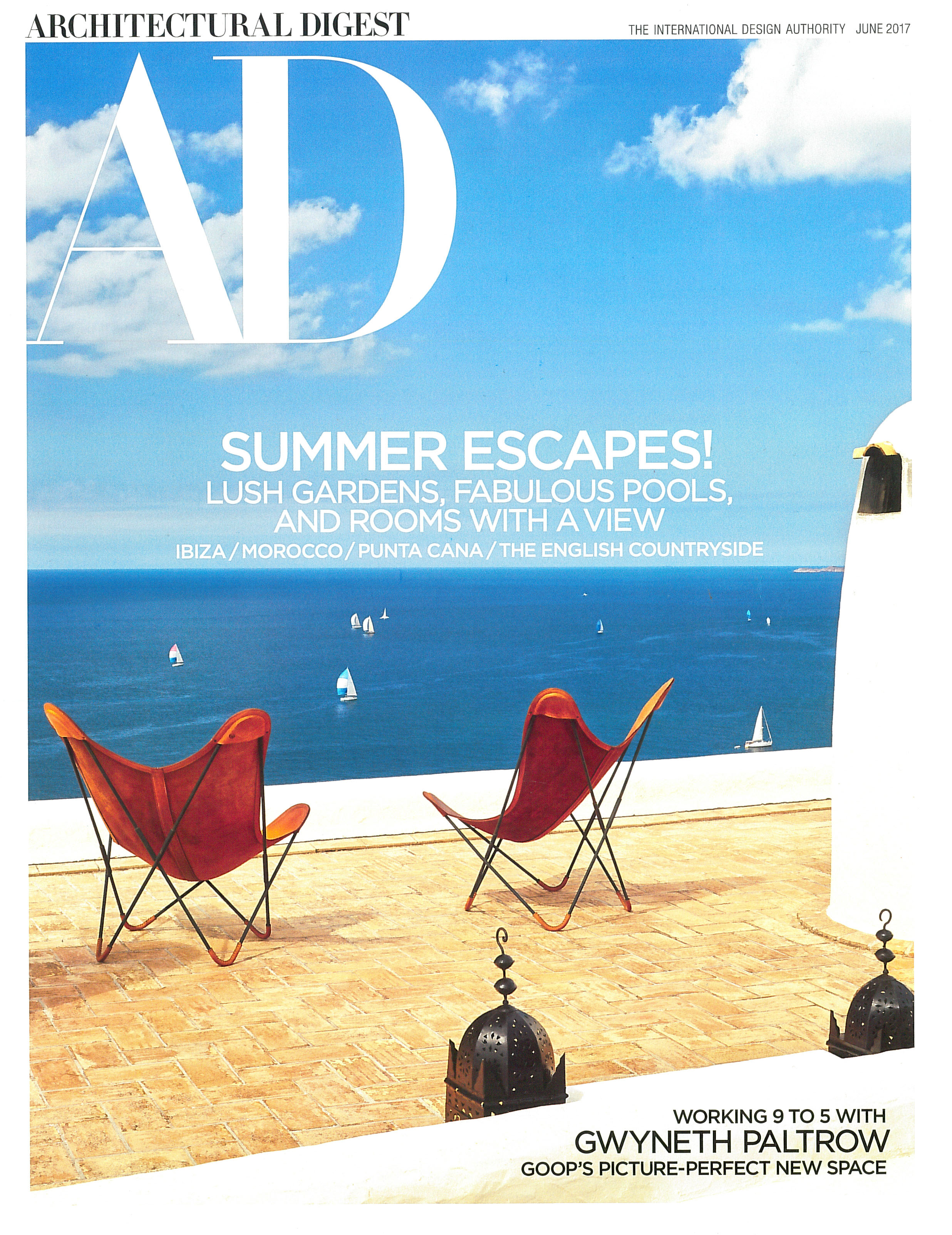Architectural Digest -  June 2017