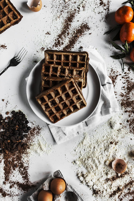 chocolate- dairy-free-waffles-