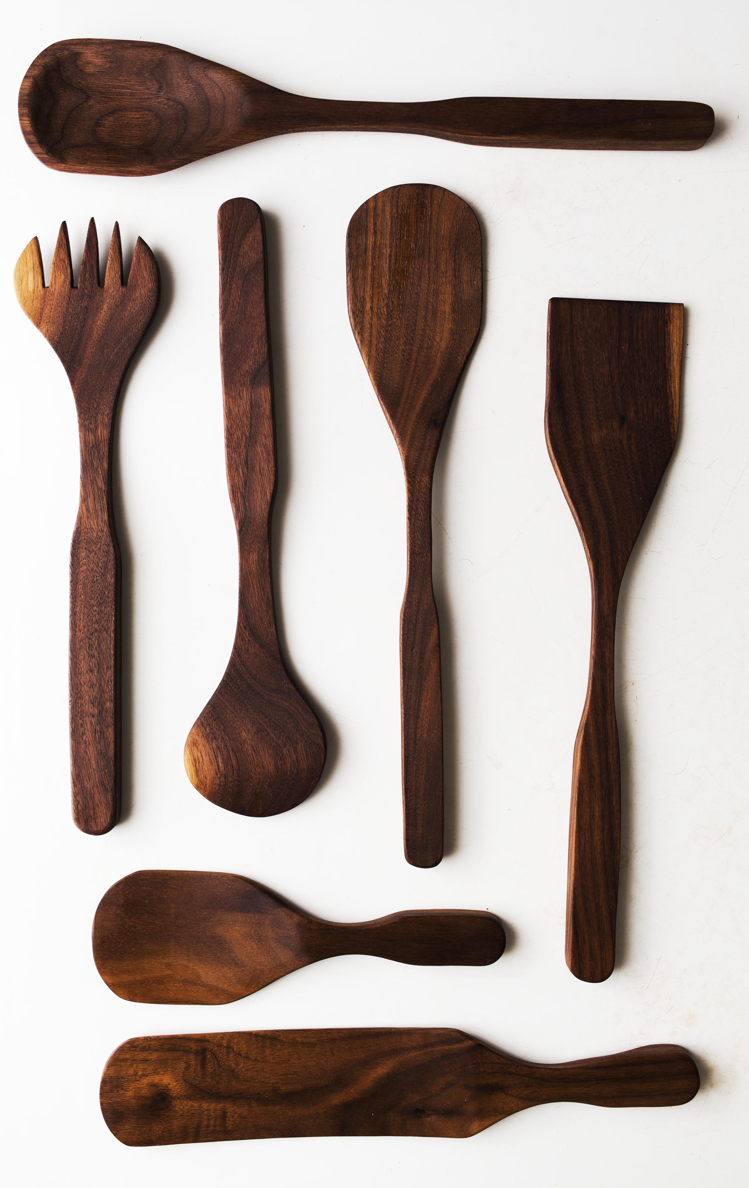 handmade wood spoons