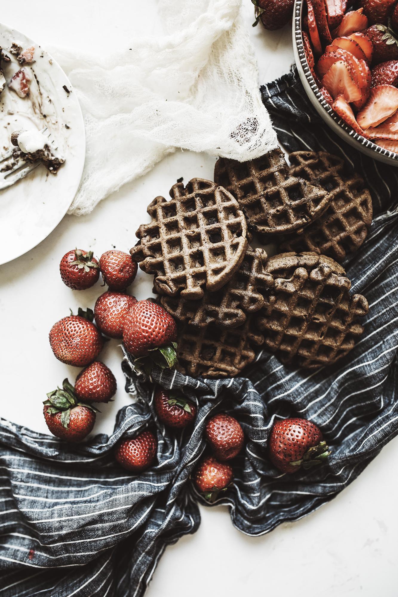gf chocolate waffle recipe