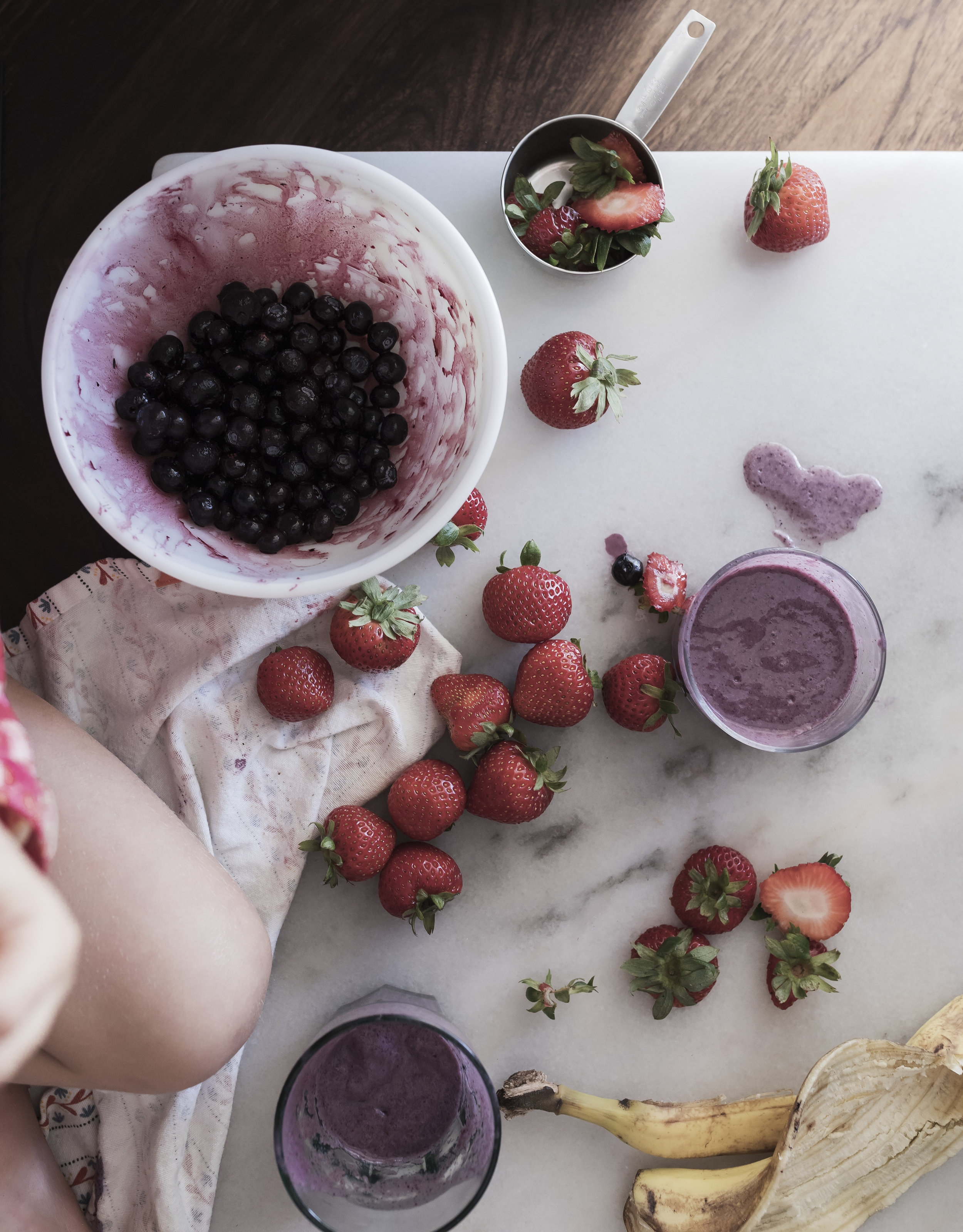 VEGAN BERRY SMOOTHIE -