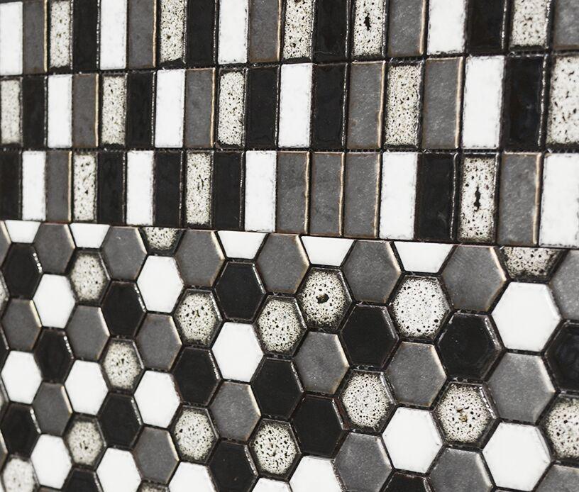 Mosaic Raku