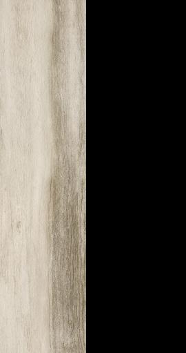 "Drift wood look porcelain, 9"" x 36"" white"