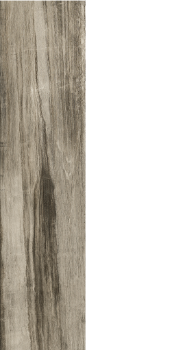 "Drift grey, wood look porcelain, 9"" x 36"""