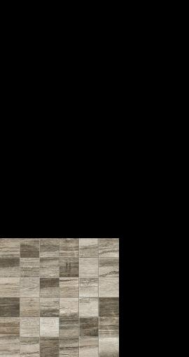 Drift grey, wood look mosaic, 2 x 2