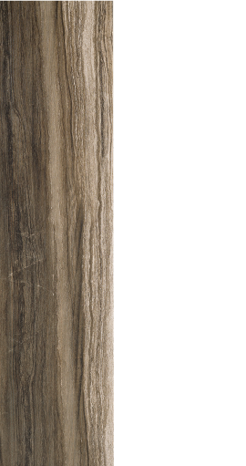 "Drift brown, wood look porcelain, 12"" x 24"""