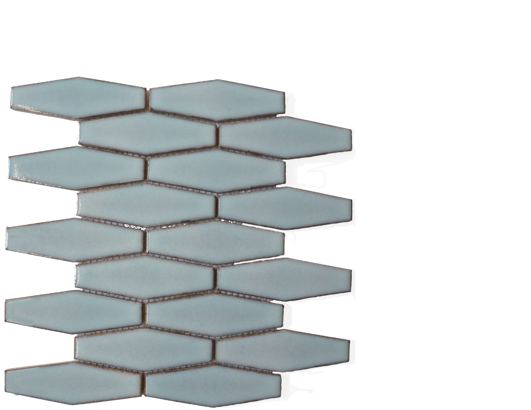 ATLBHEX Atlanta light blue Hexagon mosaic