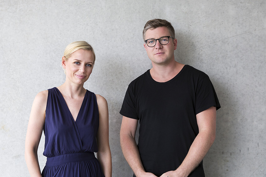 Bridie Picot and Matt Smith of Thing Industries