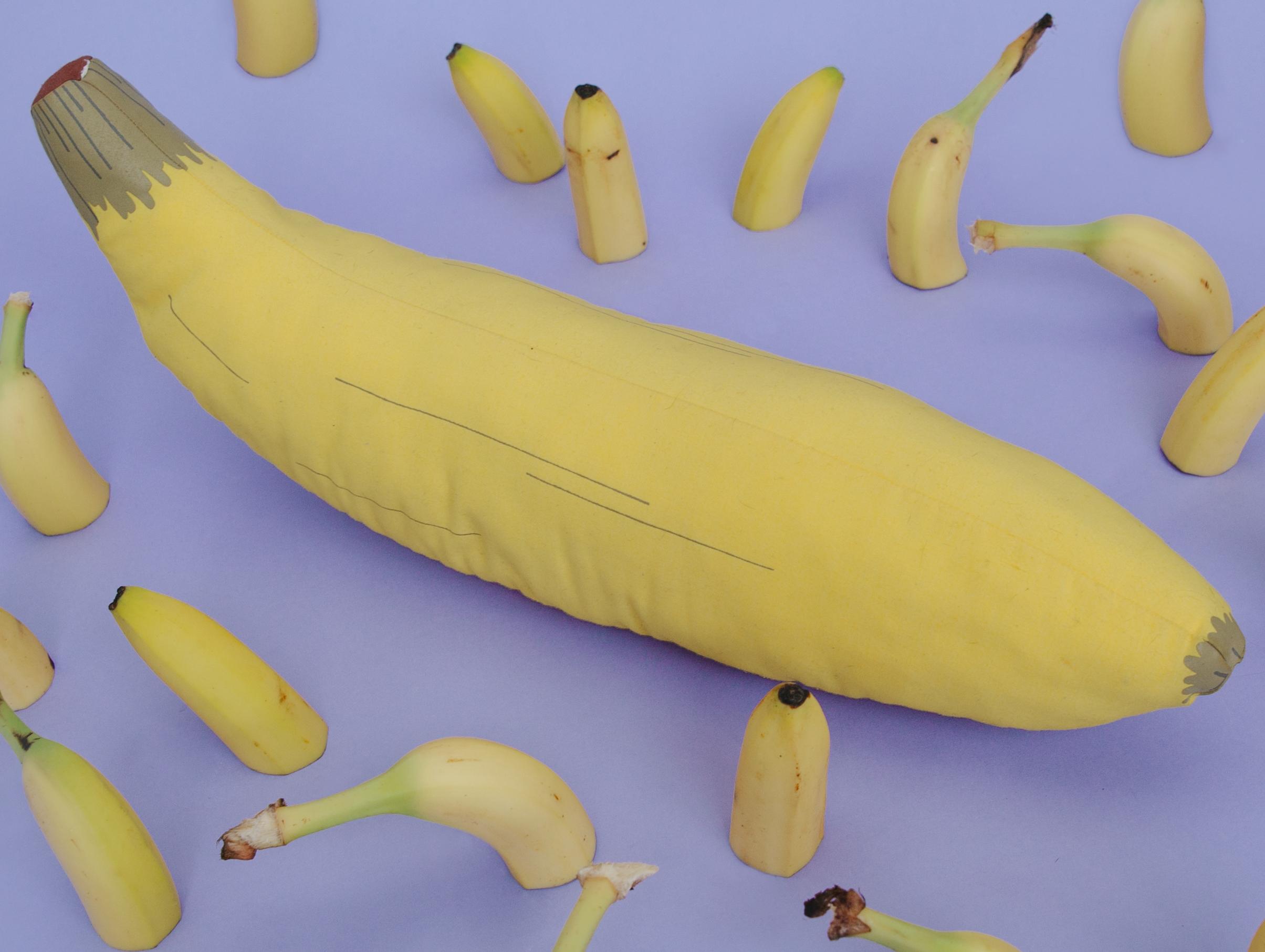 Banana Pillow, photo by  Amanda Janowski