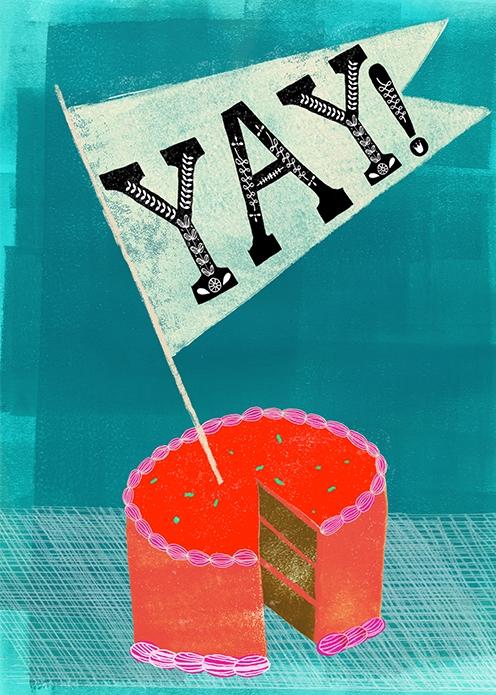 Anisa Makhoul's YAY! Cake