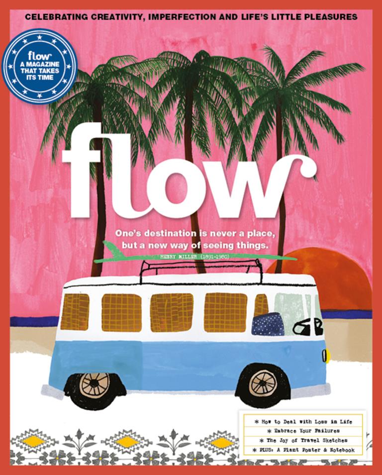 Anisa Makhoul for FLOW Magazine