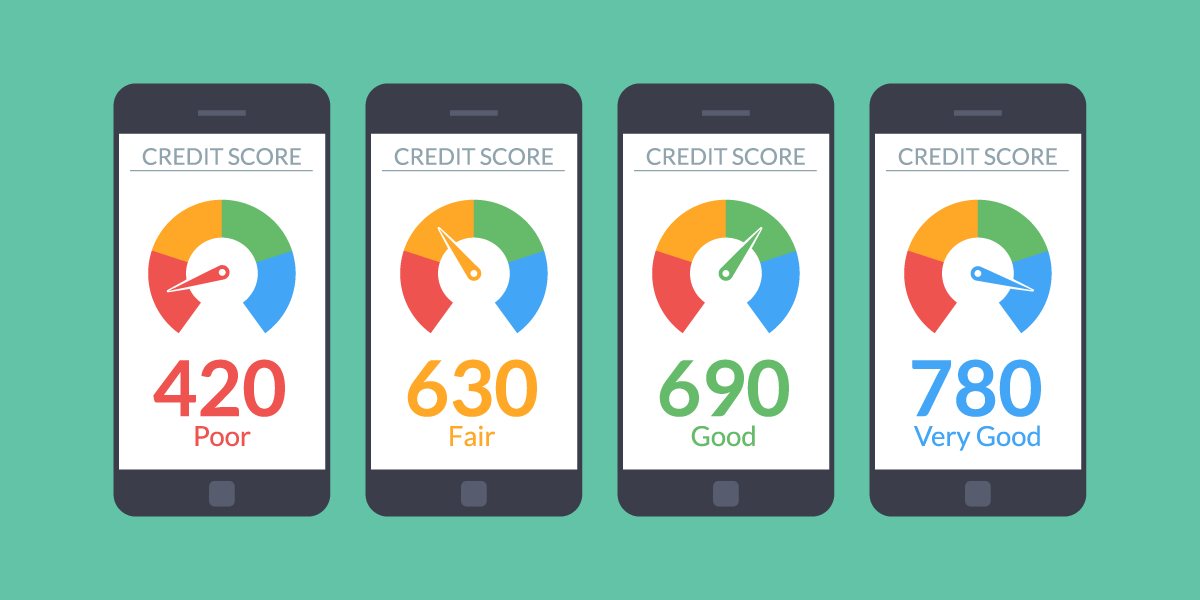 *According to  Governing.com , the national average credit score is 687.