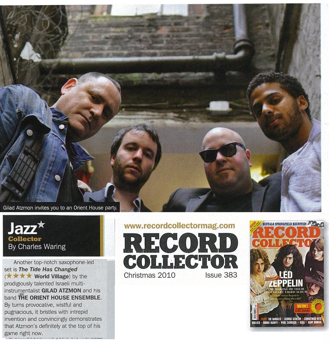 Gilad Atzmon The Tide Has Changed Record Collector Christmas 2010.jpg