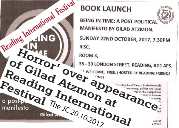 Being in Reading in Time - Sun 22 Oct, 7.30 PM Risc, 35-39 London Street, Reading, RG1 4PS