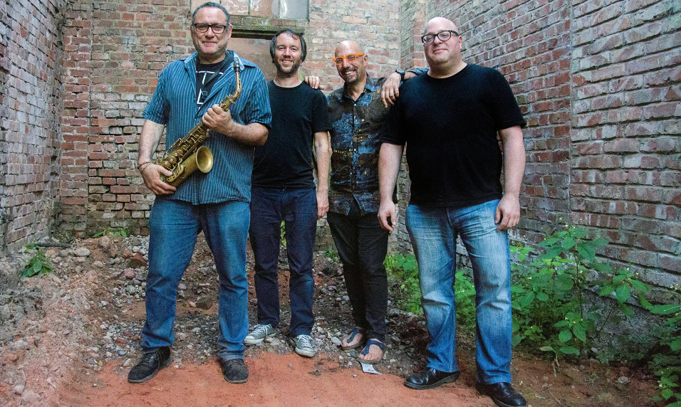 Dealing with Coltrane's impact not mimicking … Gilad Atzmon and band. Photograph: Defe N