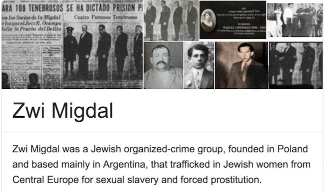abuse crime corruption prostitution sex trafficking slavery Argentina