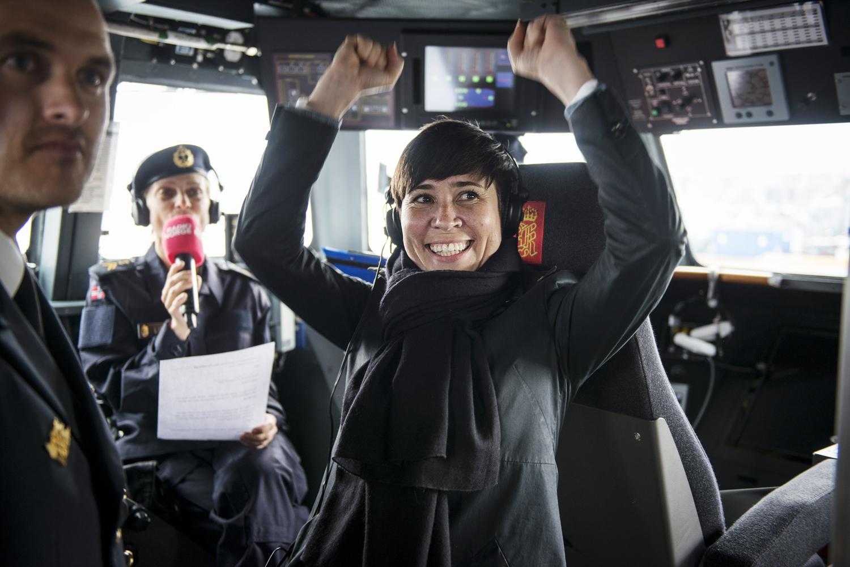 Bildet tatt for Sjøforsvaret.  All videre bruk må godkjennes.