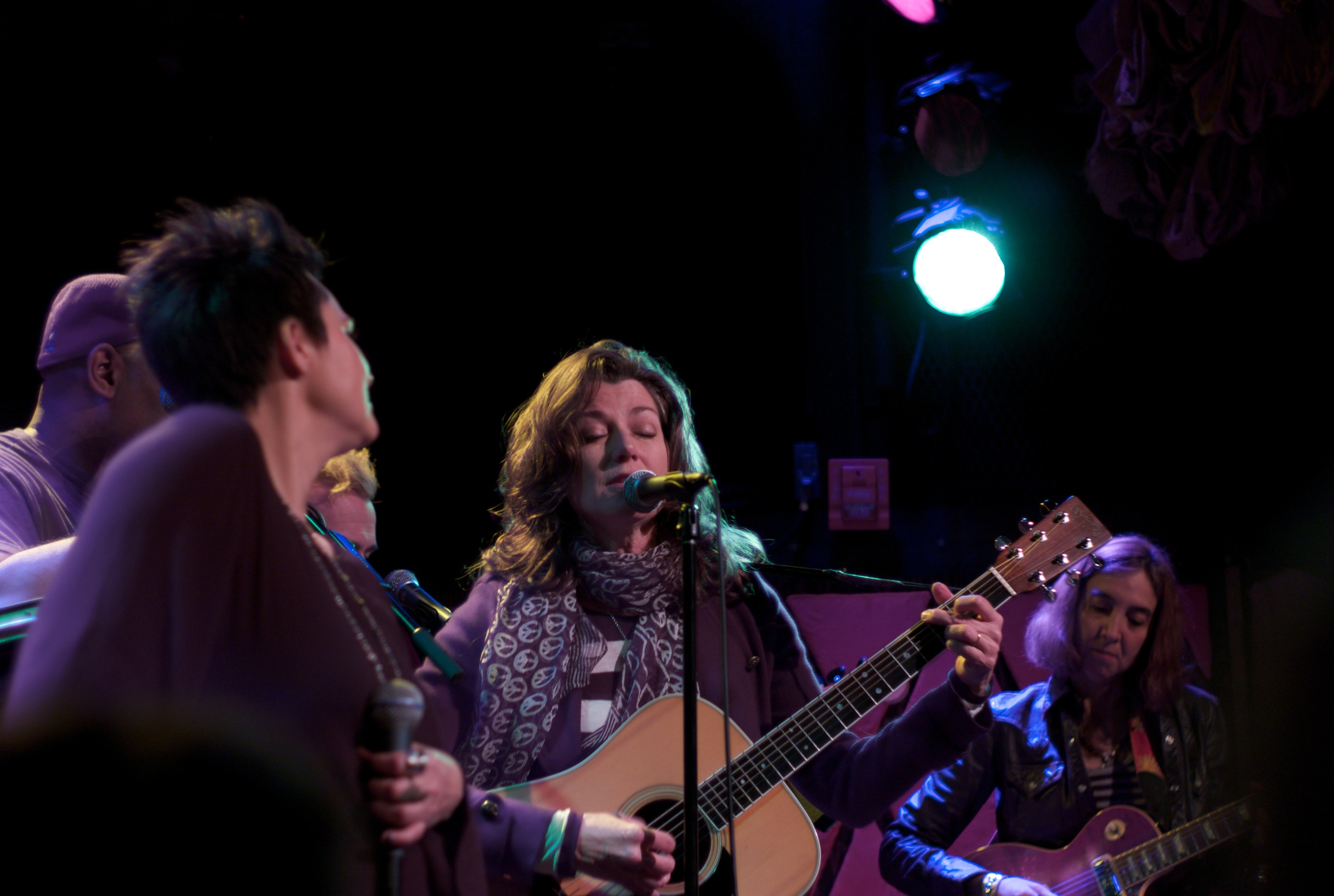 Amy Grant sitting in with Me and My band, Rockwood 2, NYC