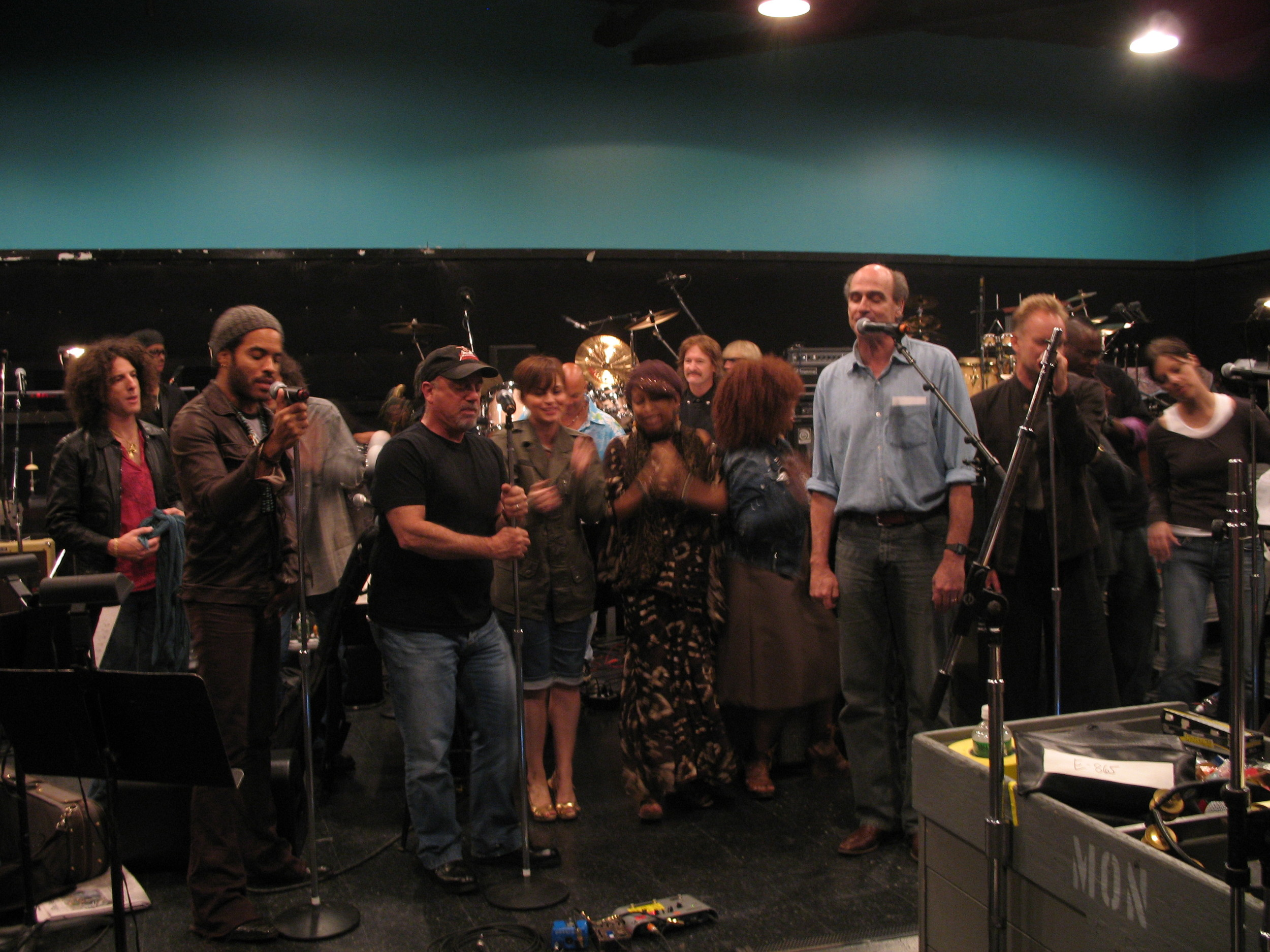 rehearsing with all my musical heroes for The Rainforest, NYC