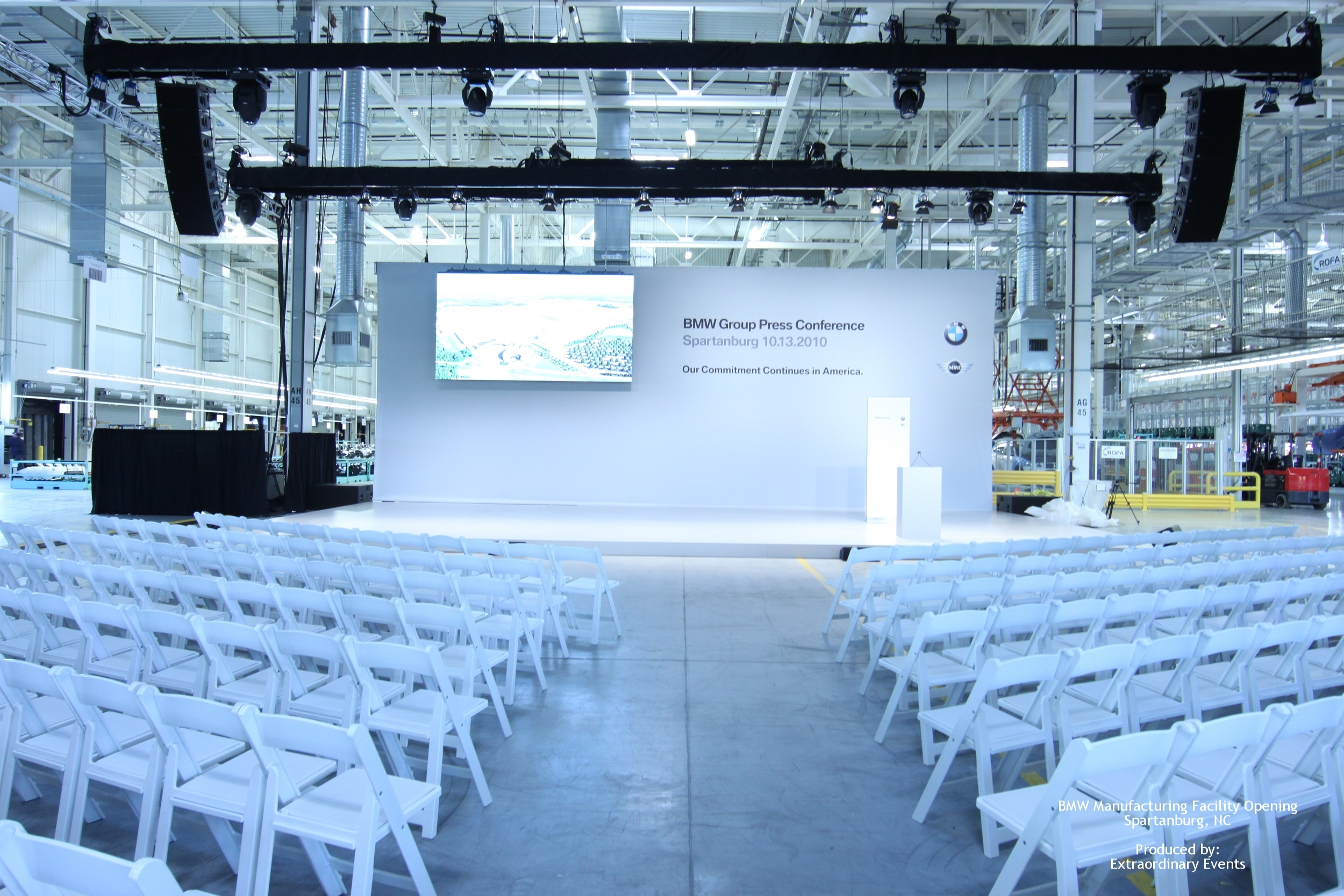 BMW Manufacturing Facility Opening Produced by: Extraordinary Events