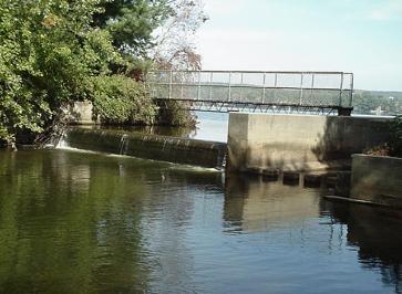 Lake Wickaboag Dam