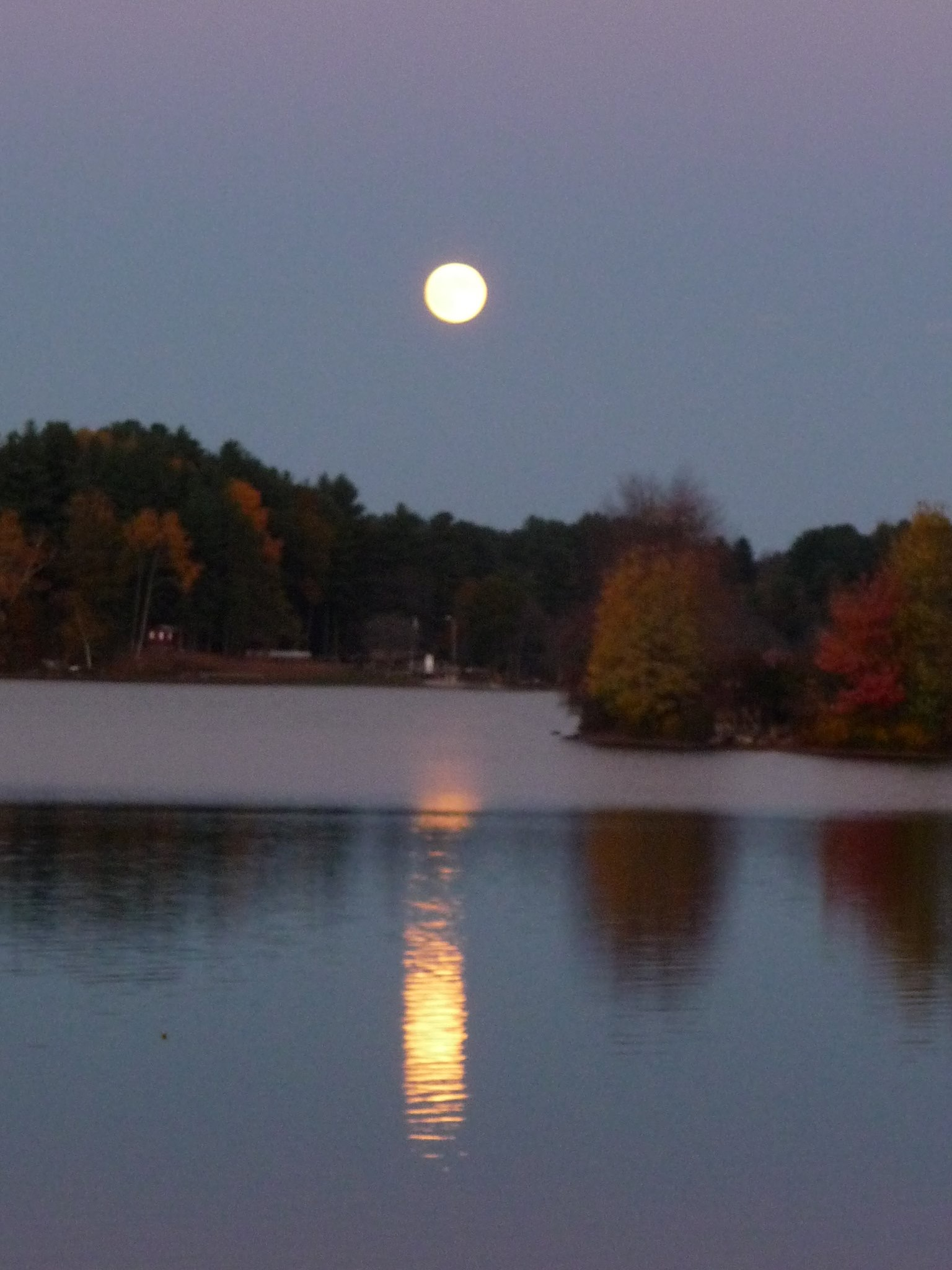 Full moon, fall 2013